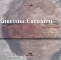 Giacomo Carrissimi: Oratorios - Barbara Steude (vocals); Hermann Oswald (vocals); Lautten Compagney; Matthias Gerchen (vocals); Matthias Lutze (vocals);...