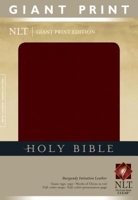 Giant Print Bible-NLT - Tyndale House Publishers (Creator)