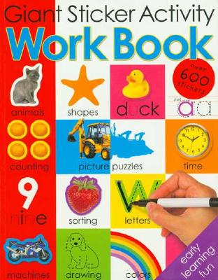 Giant Sticker Activity Work Book - Priddy, Roger