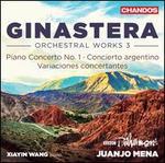 Ginastera: Orchestral Works, Vol. 3 - Piano Concerto No. 1, Concierto argentino, Variaciones concertantes