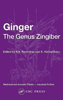 Ginger: The Genus Zingiber - Ravindran, P N (Editor)