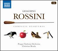 Gioachino Rossini: Complete Overtures - Prague Philharmonic Choir (choir, chorus); Prague Sinfonia Orchestra; Christian Benda (conductor)