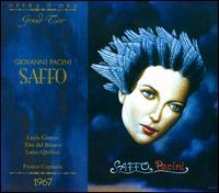 Giovanni Pacini: Saffo - Franca Mattiucci (vocals); Leyla Gencer (vocals); Louis Quilico (vocals); Mario Guggia (vocals); Maurizio Piacente (vocals);...