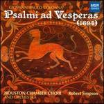 Giovanni Paolo Colonna: Psalmi ad Vesperas