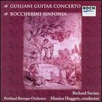 Giuliani: Guitar Concerto in A major; Boccherini: Sinfonia
