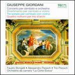 Giuseppe Giordani: Concerto per cembalo e orchestra; Divertimento; Tre sonate; Quattro notturni