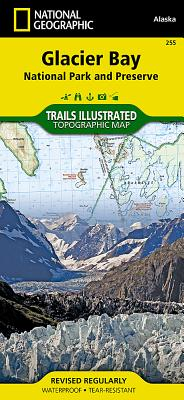 Glacier Bay National Park Trail Map - Trails Illustrated