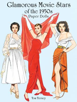 Glamorous Movie Stars of the 1950s Paper Dolls - Tierney, Tom, and Paper Dolls, and Tom Tierney