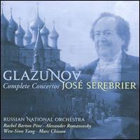Glazunov: Complete Concertos - Alexander Romanovsky (piano); Alexey Serov (french horn); Marc Chisson (sax); Rachel Barton Pine (violin);...
