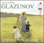 Glazunov: String Quartets, Vol. 1