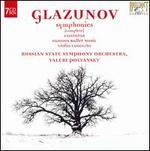 Glazunov: Symphonies (Complete); Cantatas; Famous Ballet Music; Violin Concerto [Box Set] - Dmitri Stepanovich (bass); Julia Krasko (violin); Ludmila Kuznetsova (mezzo-soprano); Olga Lutsiv-Ternovskaya (soprano);...