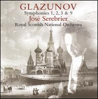 Glazunov: Symphonies Nos. 1, 2, 3, & 9 - Royal Scottish National Orchestra; José Serebrier (conductor)