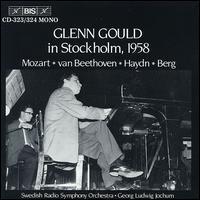 Glenn Gould in Stockholm, 1958 - Glenn Gould (piano); Swedish Radio Symphony Orchestra; Georg Ludwig Jochum (conductor)