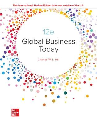 Global Business Today - Hill, Charles