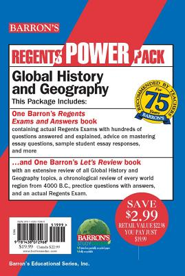 Global History and Geography Power Pack - Willner, Mark