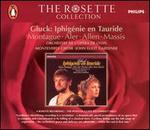 Gluck: Iphigénie en Tauride - Carol Hall (vocals); Colette Alliot-Lugaz (soprano); Danielle Borst (soprano); Diana Montague (mezzo-soprano); Jane Armstrong (vocals); Jean Knibbs (vocals); John Aler (tenor); Lucinda Houghton (vocals); Mary Seers (vocals); Nancy Argenta (soprano)
