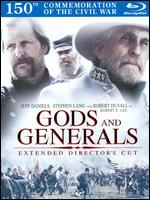 Gods and Generals [Director's Cut] [2 Discs] [DigiBook] [Blu-ray] - Ronald F. Maxwell