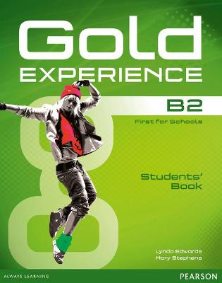 Gold Experience B2 Students' Book and DVD-ROM Pack - Edwards, Lynda, and Stephens, Mary