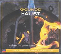 Gounod: Faust - Franco Corelli (tenor); Joan Sutherland (soprano); Margreta Elkins (mezzo-soprano); Monica Sinclair (mezzo-soprano); Nicolai Ghiaurov (bass); Raymond Myers (baritone); Robert Massard (baritone); Ambrosian Opera Chorus (choir, chorus)