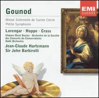 Gounod: Messe Solennelle de Sainte Cécile; Petite Symphonie - Franz Crass (bass); Heinz Hoppe (tenor); Henriette Puig-Roget (organ); Pilar Lorengar (soprano);...