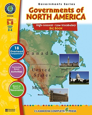 Governments of North America Big Book - Rollins, Brenda