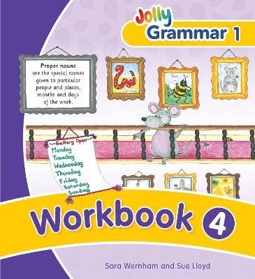 Grammar 1 Workbook 4: in Precursive Letters (BE) - Wernham, Sara, and Lloyd, Sue