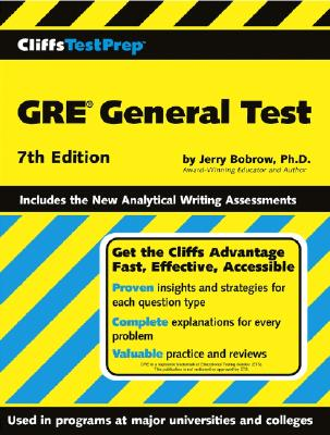 GRE General Test - Bobrow, Jerry, Ph.D., and Orton, Peter Z (Contributions by), and Casson, Allan (Contributions by)