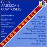 Great American Composers: Hanson, Diamond, Piston, Creston