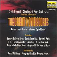 Great Movie Scores from the Films of Steven Spielberg - Cincinnati Pops Orchestra / Erich Kunzel