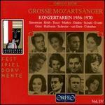 Great Mozart Singers, Vol. 4: Concert Arias 1956-70