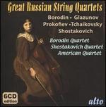 Great Russian String Quartets: Borodin, Glazunov, Prokofiev, Tchaikovsky, Shostakovich