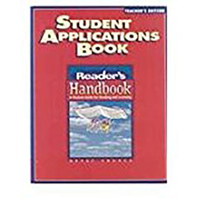 Great Source Reader's Handbooks: Teacher's Edition Grade 8 2002 - Robb, Laura