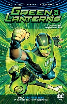 Green Lanterns Vol. 4: The First Rings (Rebirth) - Humphries, Sam