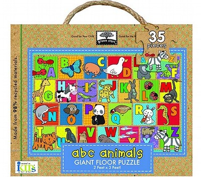 Green Start ABC Animals Giant Floor Puzzle - Ikids, and Innovative Kids (Creator)