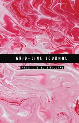 Grid-Line Journal: Blank Grid Graph Diary Notebook: Marble Design: Matte Non-Glossy Cover: 122 Pages - Patricia E Phillips, and Grid Notebook Soft Cover, and Grid Paper Journal