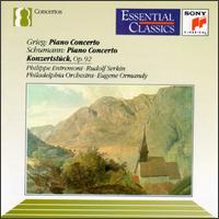 Grieg: Piano Concerto; Schumann: Piano Concerto; Konzertstück -