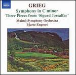 Grieg: Symphony in C minor; Three Pieces from 'Sigurd Jorsalfar'