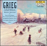 Grieg: Works for Orchestra - Maurice de Abravanel (conductor)