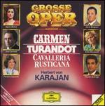 Grosse Oper Auszüge: Carmen, Turandot, Cavalleria Rusticana