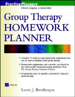 Group Therapy Homework Planner - Bevilacqua, Louis J, Med, Psyd
