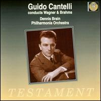 Guido Cantelli conducts Wagner & Brahms - Dennis Brain (horn); Philharmonia Orchestra; Guido Cantelli (conductor)