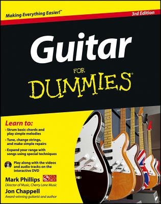 Guitar for Dummies, with DVD - Phillips, Mark, and Chappell, Jon