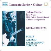 Guitar Recital: Johan Fostier Plays Ponce, Asencio, Castelnuovo-Tedesco - Johan Fostier (guitar)
