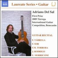 Guitar Recital (Laureate Series) - Adriano del Sal (guitar); Matthias Dammann (guitar)