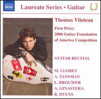 Guitar Recital - Thomas Viloteau (guitar)