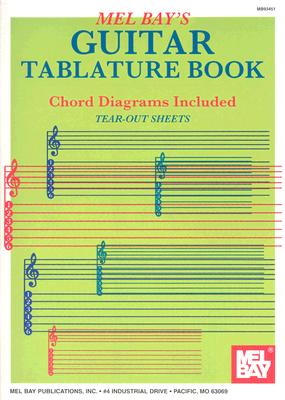 Guitar Tablature Book - Mel Bay Publications Inc (Creator)