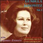 Gundula Janowitz Vol. 1