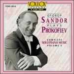 Gyorgy Sandor plays Prokofiev: Complete Solo Piano Music, Vol. 2