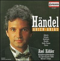 Händel: Arien - Alexander Weimann (harpsichord); Axel Köhler (counter tenor); Frank Benkendorf (bassoon); Günter Strobelt (oboe);...