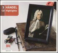 Händel Highlights - Achim Beyer (violin); Adele Stolte (soprano); Akademie für Alte Musik, Berlin; Arleen Augér (soprano);...